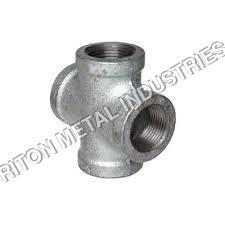 Duplex Steel 4Way Pipe Fittings