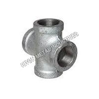 Duplex Steel 4Way Pipe Fittings