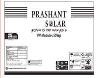 50Watt 12V Solar Panel