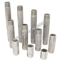 Duplex Steel Barrel Nipple