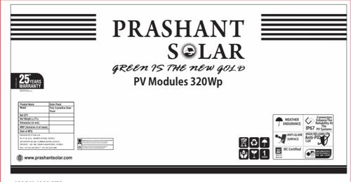 320 WATTS 24V Solar Panel