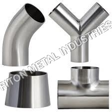 Stainless Steel Buttweld Wye Reducing