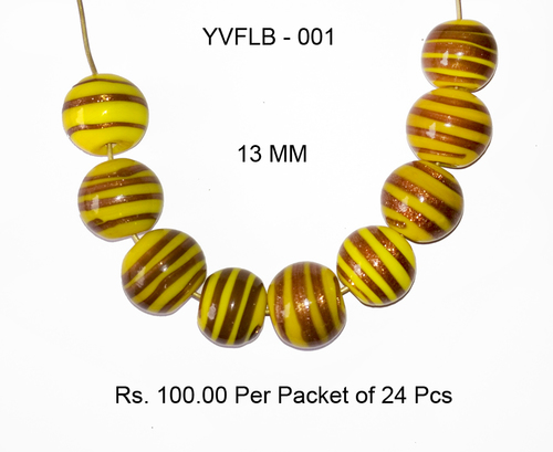 Lampwork Fancy Glass Beads - YVFLB-001