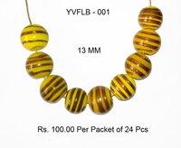 Lampwork Fancy Glass Beads - YVFLB-001