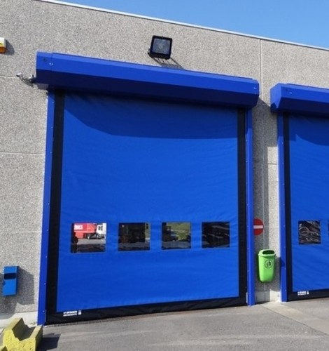 Dynaco High Speed Door- External Application