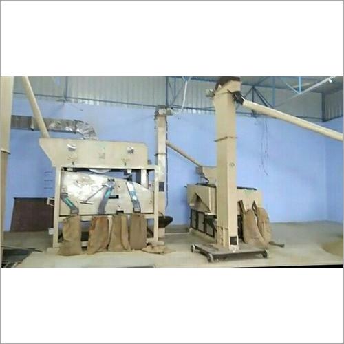 Semi Automatic Wheat Cleaning Machine