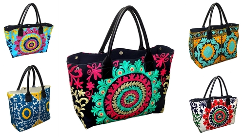 Suzani Printed Bags