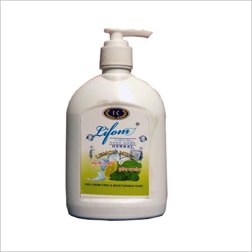 Lemon Mint Fragrance Hand Wash