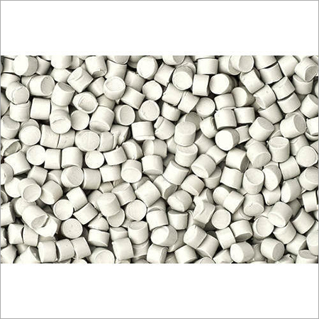 White Nylon Filled Granules