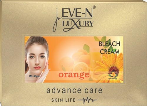 Eve-N Luxury Bleach Cream Orange 60 G