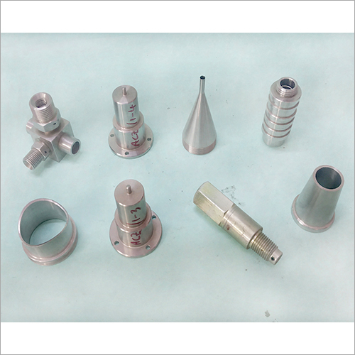 Industrial CNC Machine Component