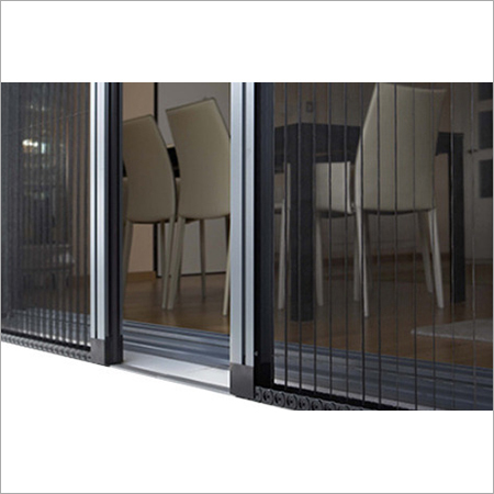 Pleated Door Mesh
