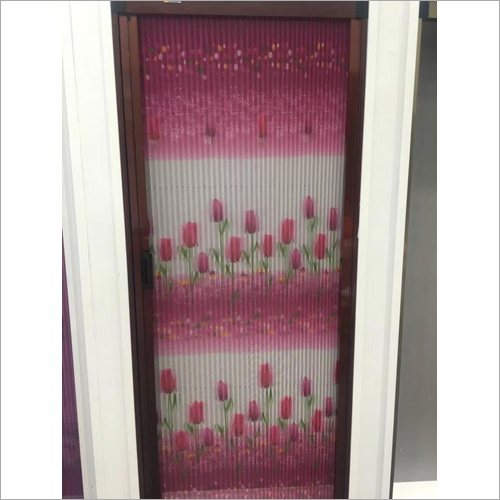 Pleated Sliding Door Mesh