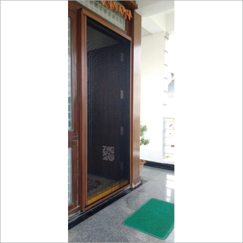 Pleated House Door Mesh