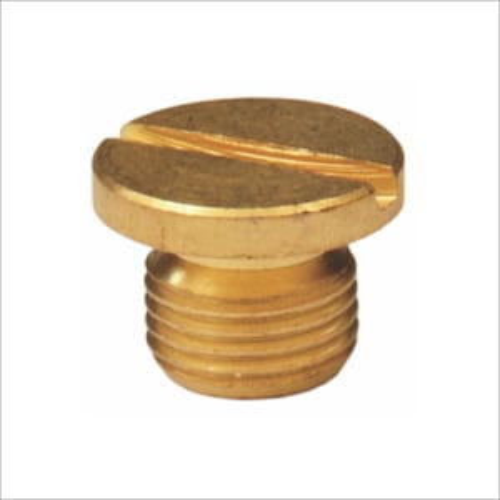 1/8 Brass Round Plug