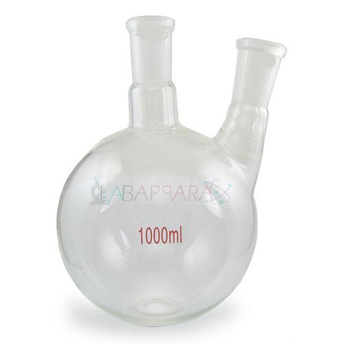 Flasks Round Bottom, Two Neck