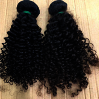 Virgin Indian Human Hair Cuticle Aligned Hair Curly hair