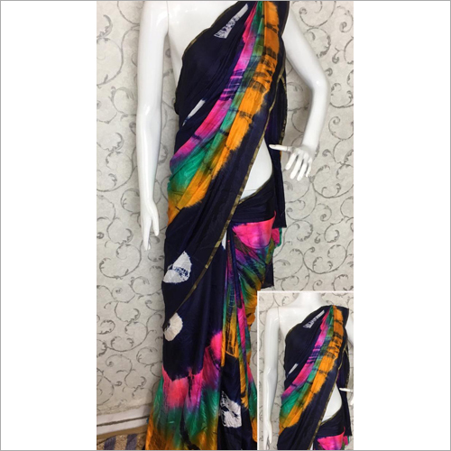 Ladies Tie Dye Saree