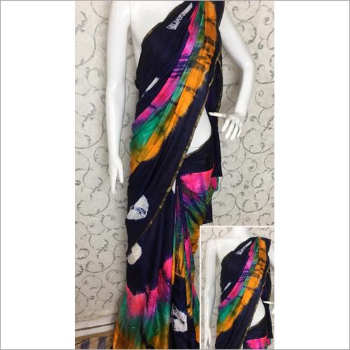 Ladies Tie Dye Saree