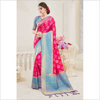 Ladies Crepe Saree