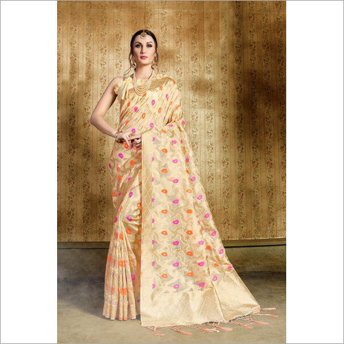 Ladies Jacquard Saree