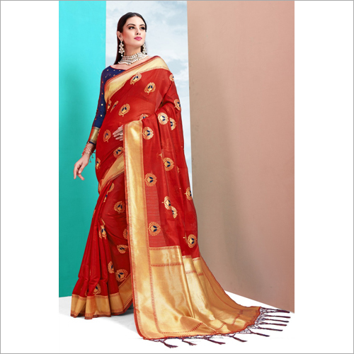 Ladies Printed Chiffon Saree