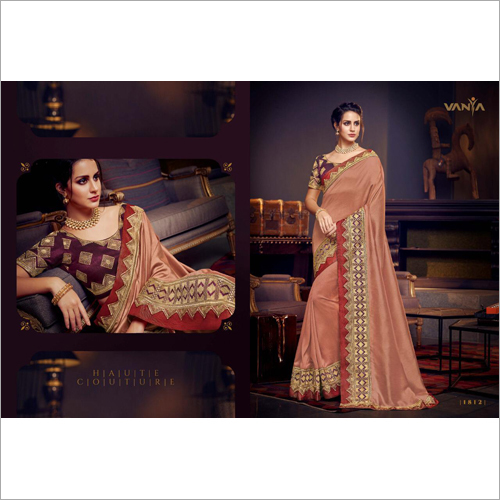 Ladies Wedding Wear Saree