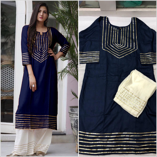 Ladies Chanderi Salwar Suit