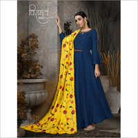 Ladies Silk Salwar Suit