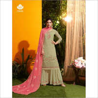 Ladies Wedding Sharara Suit
