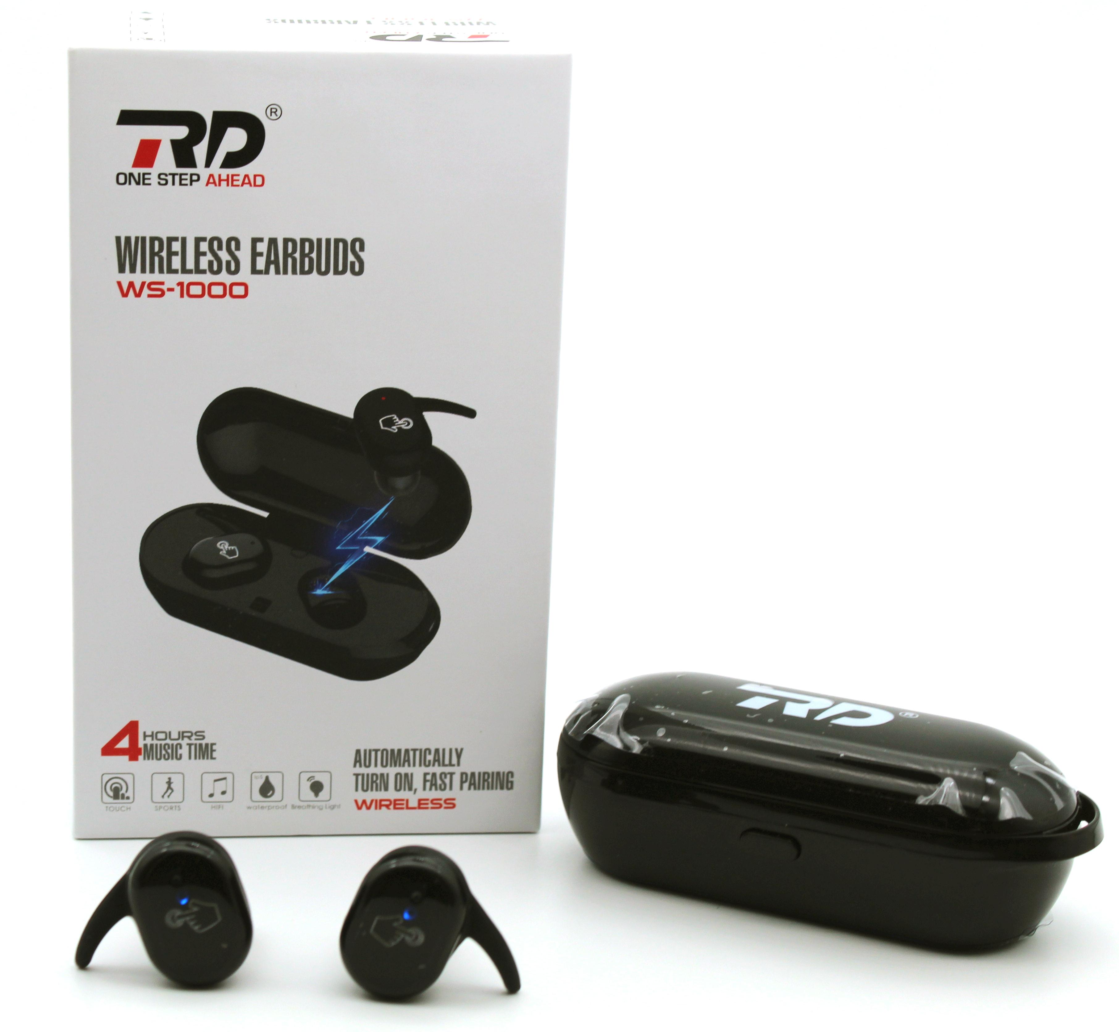 RD WS-1000 Wireless Earbuds