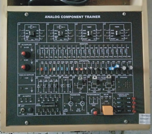 Basic Analog Electronics Trainer Kit