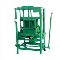 Manual Hollow Block Machine