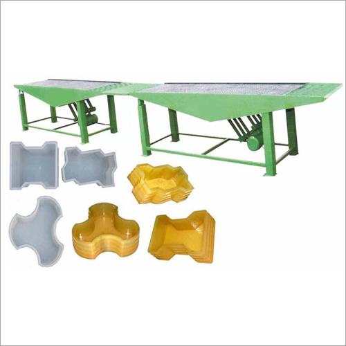 Paver Block Table Vibrator
