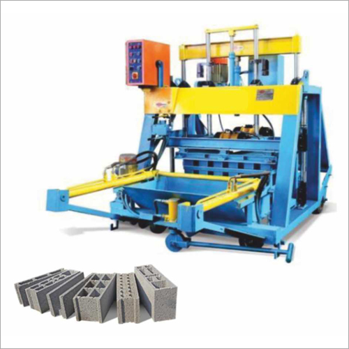 Concrete Block Machine with Feeder