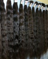Black Women Natural Black Long Hair Extension