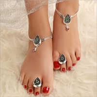 Ladies Sterling Silver Leg Ring