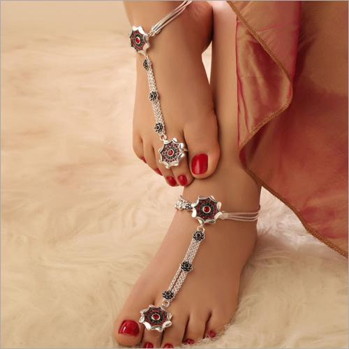 Ladies Sterling Silver Toe Ring