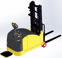 1.5T Capacity Battery Operated Stacker