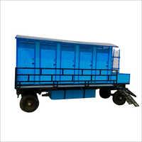 FRP Mobile Toilet Van