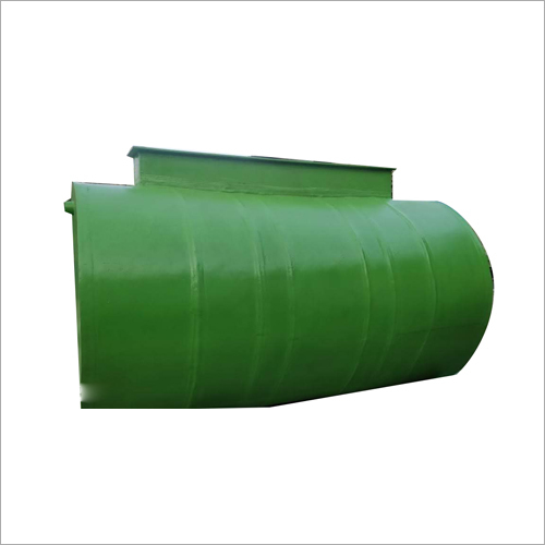FRP Cylindrical Bio Digester Tank