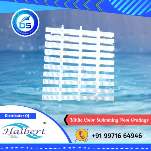 White Color Swimming Pool Gratings