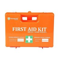 Filled First Aid Box