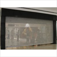 Manual Rolling Shutter-Peforated