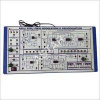 Amplitude Modulation De-modulation Trainer