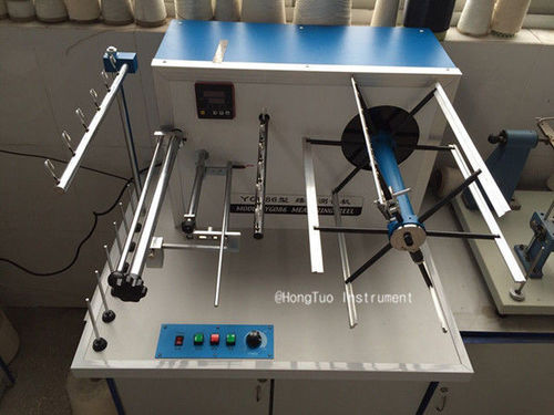 Digital Electronic Textile Testing Equipment / Yarn Wrap Reel Machine Length Measuring Device