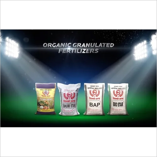 Organic Granulated Fertilizers