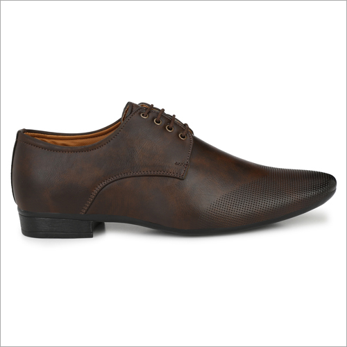 Luxury Mens Brown Formal Shoes