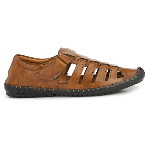 Mens Comfortable Tan Sandals