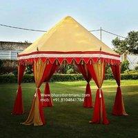 Handmade Garden Tent